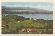 General View of Cap a l'Aigle & MURRAY BAY Quebec Canada 1930-40s PECO Postcard