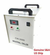 Origina S&A CW-3000DG 110V Water Chiller Cool 50W 60W 80W CO2 Laser Tube CE RoHS