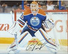 CAM TALBOT REPRINT 8X10 AUTOGRAPHED SIGNED PHOTO PICTURE EDMONTON OILERS RP