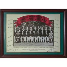 Cricket England 1945 The Invincibles 50th Anniversary Framed