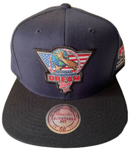 MITCHELL & NESS DREAM TEAM USA HAT OS 1992 OLYMPICS SNAPBACK VINTAGE DS HWC