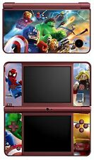 VINYL SKIN STICKER FOR NINTENDO DSI XL - REF 25 LEGO MARVEL