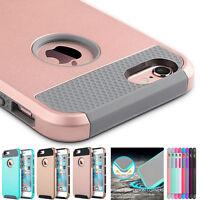 Handy Schutz Hülle Silikon Tasche Etui Case Bumper Cover Für iPhone & Samsung