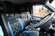 Mercedes Vito Van Seat Covers- New Bentley Blue Made to Mesure- X152BK-BU