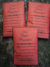 Hot Foot Powder spell supplies spells talisman amulet Witchcraft Occult
