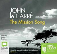 The Mission Song by John le Carré -MP3 Audio CD Unabridged NEW SEALED
