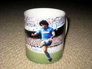 Diego Maradona Napoli Action BECHER