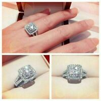 Certified 2.55 Ct Round Cut  Diamond Engagement  Ring Solid 14K White Gold