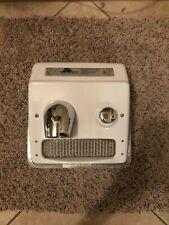 World Dryer RA5 White Push Button Hand Dryer 20A 115V