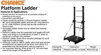 Chance Hubbell Platform Ladder LineMan Epoxiglas Ladder C4020276