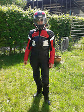 FLM Damen Motorradkombi Lederkombi 2 Teile riding suit ladies Gr size 44/48 (38)