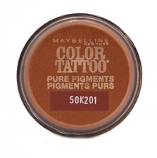Set Of 8 Maybelline Color Tattoo Pure Pigments Eyeshadows 35 Breaking Bronze
