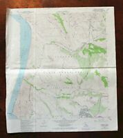 Casmalia California USGS Topo Map 1982 Vandenberg AFB 7.5-minute Topographical