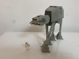 Micro Machines Star Wars Action Fleet 1995 AT-AT + Figurine