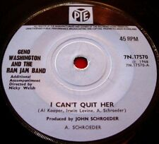 """Geno Washington I Can't Quit Her 7"""" UK ORIG 1968 Pye b/w Put Out The Fire VINYL"""