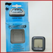 NOS SHIMANO FLIGHT DECK COMPUTER CYCLE SPEED TIME SC-M500 DISPLAY SCREEN HOODS