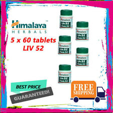 5 x Liv. 52 Himalaya Herbals Tablet 60 Tablets