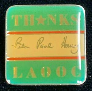 Rare Vintage 1984 LAOOC Los Angles Olympics Thanks Advertising Pin! WPIN125