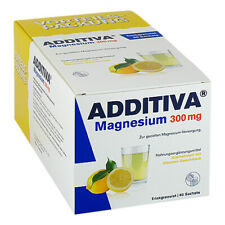 ADDITIVA Magnesium 300 mg N Pulver 60 Beutel PZN 10933655