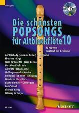 Schott Noten & Songbooks für Blockflöte