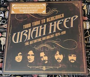 URIAH HEEP - YOUR TURN TO REMEMBER: THE DEFINITIVE ANTHOLOGY 1970-1990 LP 2 LP