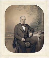Photo Papier salé rehaussé - Le Consul Devries Vermeylen - 1850's -