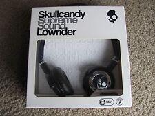 Skullcandy S5LWFY-131 Lowrider On-Ear Headphone w/Mic & Remot (Navy and Chrome)