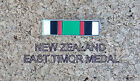 NEW ZEALAND EAST TIMOR CAMPAIGN MEDAL RIBBON BAR 5X19MM ENAMEL & NICKEL PLATED