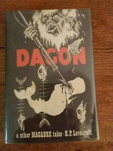 H.P. Lovecraft - DAGON hc Arkham House mint