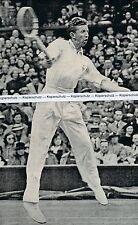 Don Budge - Tennisspieler- erster Grand-Slam Gewinner - USA - um 1935  -  L 30-8