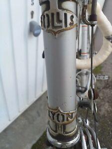 Vélo Ancien course FOLLIS road old bike bici epoca NO ROUTENS,PEUGEOT,eroica