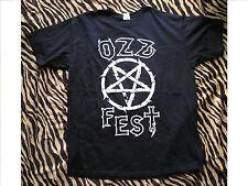 Ozzfest Japan 2013 Official Crew T-Shirt XL with Backstage Pass Black Sabbath