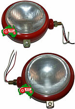 Headlight Light Lamp Set Side Mount Massey Ferguson Tractor 35 FE35 35X 65 765