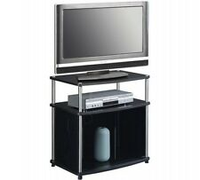 "TV Stand with Cabinet for TVs up to 25"" Multi Convenience Concepts Designs 2 Go"