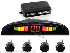 Einparkhilfe Parksensoren PDC Rückfahrwarner 4Sensoren schwarz universal Display