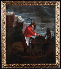 Ecole Flamande du début du 17ème, Signé: monogramme David I RICKAERT 1560/1607