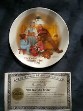 1980 First Issue Knowles Csatari Grandparent Collector Plate with Authenticity
