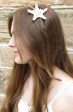 Mermaid Headdress Starfish Headband Ariel Silver Beach Wedding Hair Crown W74