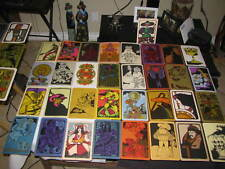 Linweave Paper Promotional Tarot Cards Deck Vintage 1967 Brown Co