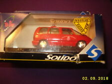 SOLIDO 1534 Renault Espace Pompiers 1:43 scale metal diecast TODAY series