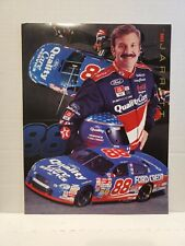1998 Dale Jarrett #88 Quality Care 8.5x11 Promo Stand-up Brochure Folder