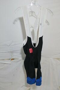 Louis Garneau Neo Power Art Motion Bib Shorts Men's XL Blue Stripes $149.99