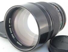 Canon New FD 135mm f/2 MF Lens Excellent+ No.