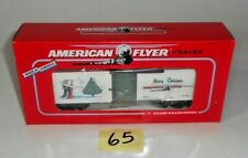 VINTAGE NOS AMERICAN FLYER S Scale 1996 HOLIDAY 6-48325 BOXCAR  EXCELLENT 65