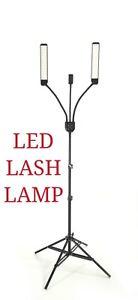 LED Multimedia Light Lamp Eyelash Extension, Makeup, Tattoo Salon Makeup (black)