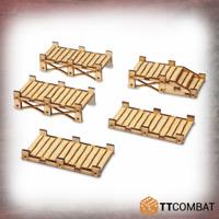 TTCombat BNIB Wooden Jetties TTSCW-SOV-137