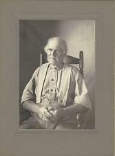 PORTRAIT OF HARLEY PLACE: FARMER FROM GLOCESTER, RI ( VINTAGE PHOTOGRAPH)