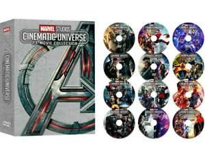 MARVEL STUDIOS 23-MOVIE COLLECTION (12-Disc DVD Set) Brand New US FREE SHIPPING