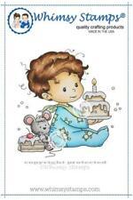 "Stempel ""Birthday Baby Boy"" Whimsy Stamps, Geburtstag, Junge, rubber stamp"