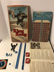 1976 Ideal King Kong Board Game